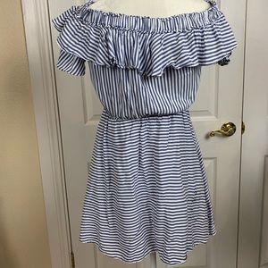 Ann Taylor LOFT Striped Dress